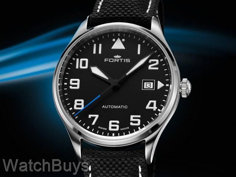 Fortis Aviatis Pilot Classic on Strap