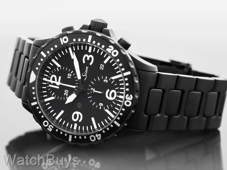 sinn 857 utc tegimented on bracelet