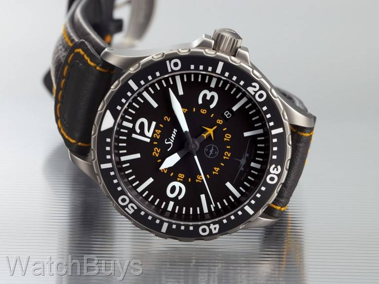 sinn 857 utc testaf lh cargo limited edition tegimented on strap