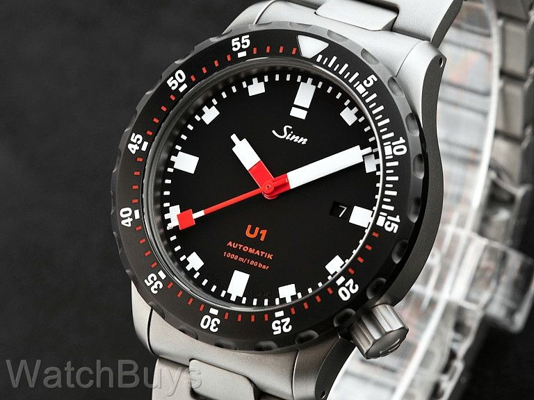 sinn u1 t sdr fully tegimented on bracelet